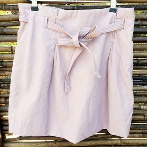Free People Short Skirt With Waist Tie Size 12